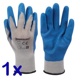 Latex Bauarbeiter Handschuhe - Einheitsgröße