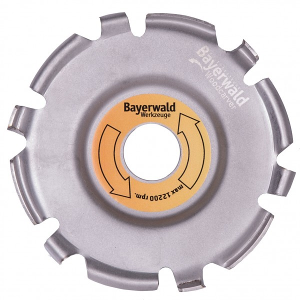 Bayerwald Woodcarver - Ø115 mm