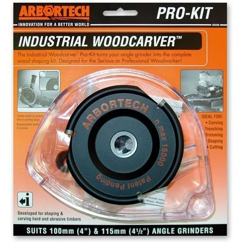 Arbortech Industrial Woodcarver - FG.200 | PRO KIT
